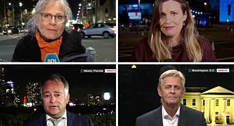 NRK brukte nesten én million kroner ekstra på innspurten av USA-valget: – Vesentlig for å gi innsikt