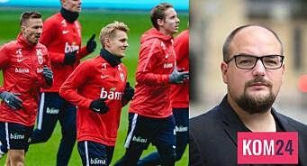 Forstår Norges fotballstjerner hva de kommuniserer når de setter seg selv over et Europa med brukket rygg?