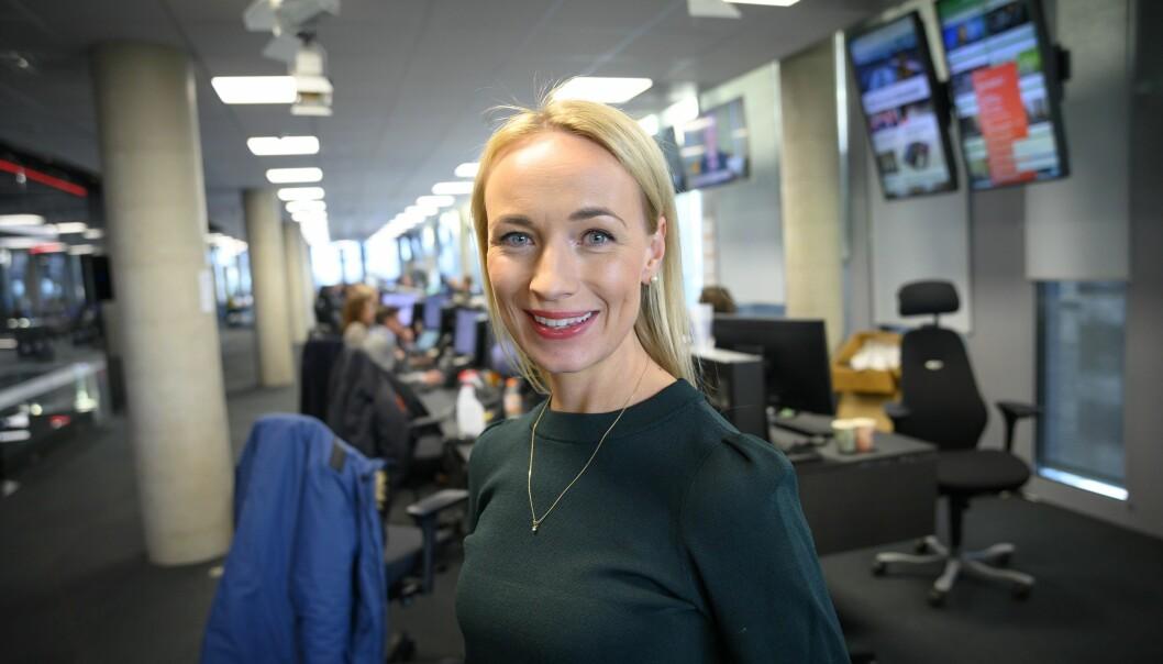 Programleder Linn Wiik i TV 2.