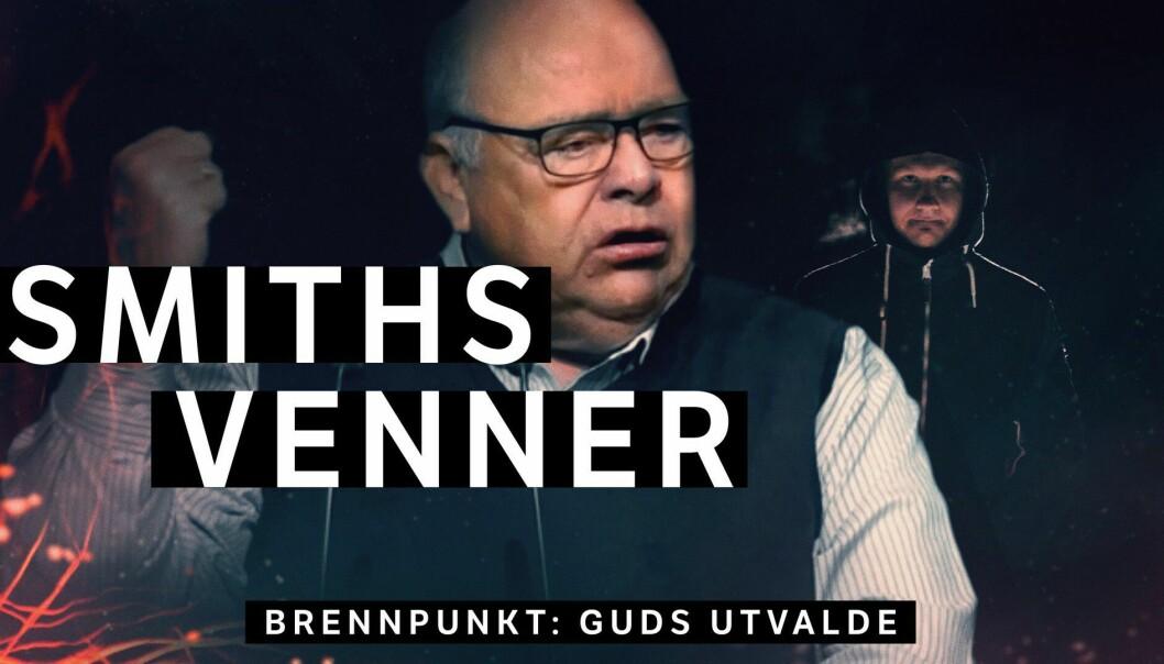 Illustrasjon fra NRK Brennpunkts dokumentar «Smiths Venner: Guds utvalde».