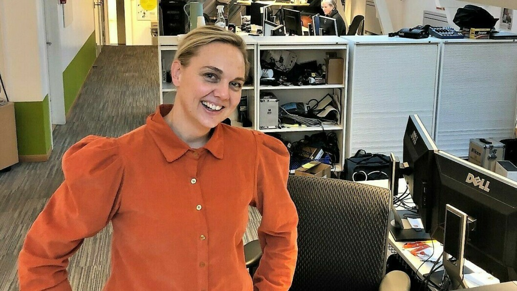 Katrine Lia blir ny sjefredaktør og daglig leder i Agderposten AS fra 1. januar 2021.