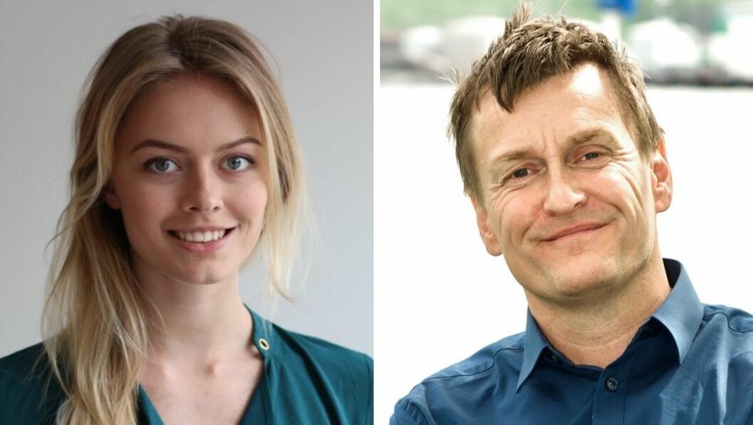 Porten.no-redaktør Synne Asheim Haga og Ansvarlig redaktør i Rana No, Roger Marthinsen, kunne begge juble etter å ha blitt tildelt pressestøtte tirsdag.