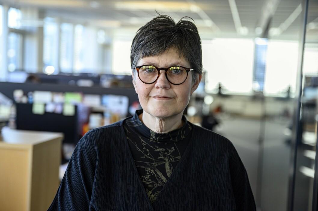 Berit Aalborg var en av Vårt Land-journalistene som ble smittet av korona tidligere i høst.