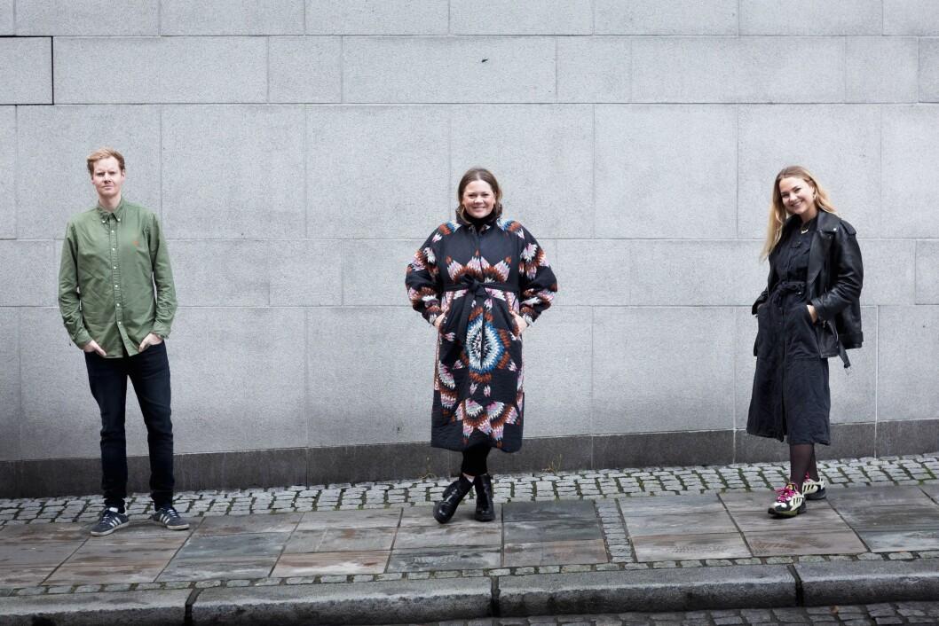 Erland Hesthagen, Marte Schei og Vilde Darvik er alle ansatt i den nye satsingen.