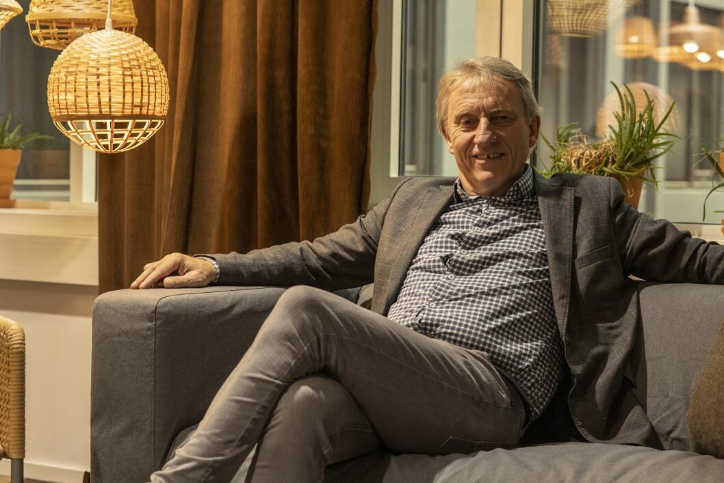 Sjefredaktør Magne Storedal i Avisa Oslo.