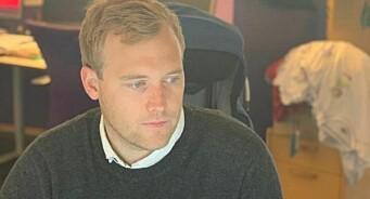 Erik Børresen (29) rykker opp - blir nyhetsredaktør i Oppland Arbeiderblad