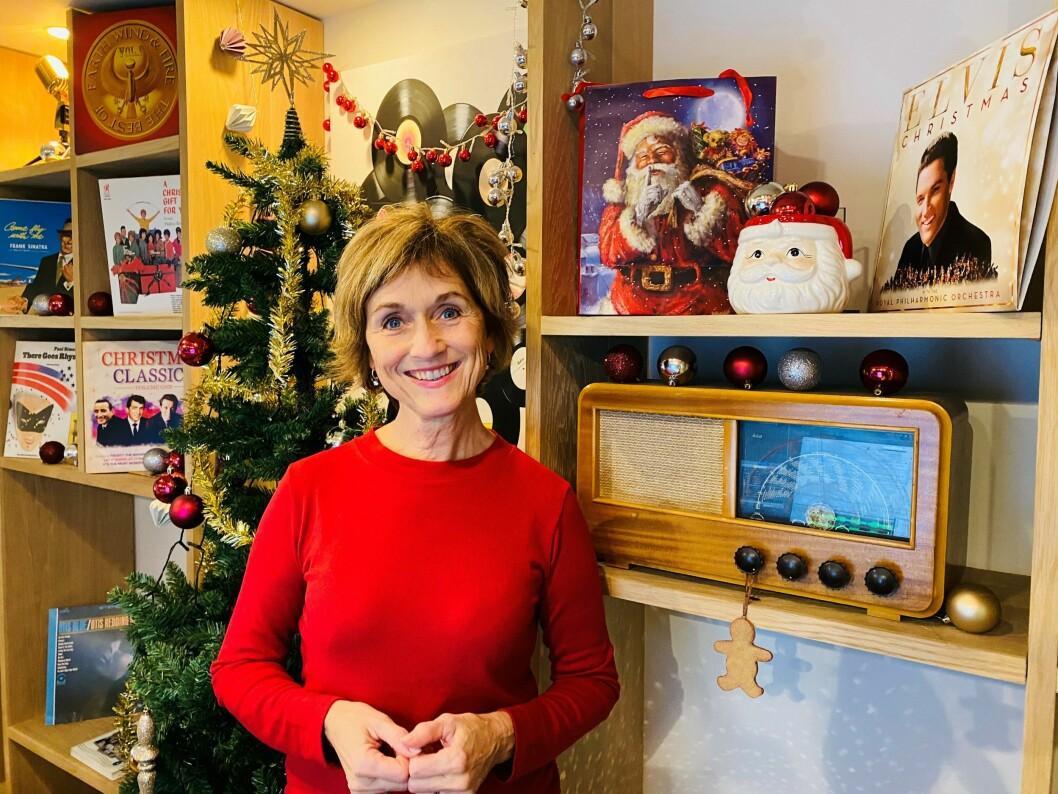 Hilde Hummelvoll skal lede et nytt juleprogram på Radio Vinyl.