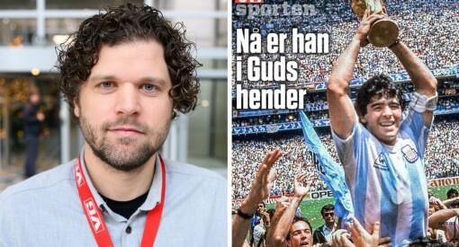 VG Sporten lagde Maradona-bilag på tre timer: – Desken har gjort en kjempejobb