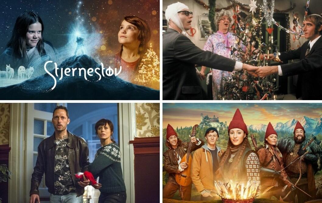 Stjernestøv, The Julekalender, Jul i Blodfjell og Tinka og kongespillet er noen av julekalenderne som sendes på norske plattformer i år.