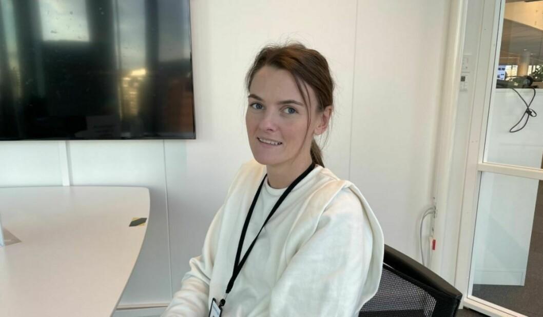 Katrine Mjelde bytter nå ut Media City Bergen med NHST-bygget i Oslo.