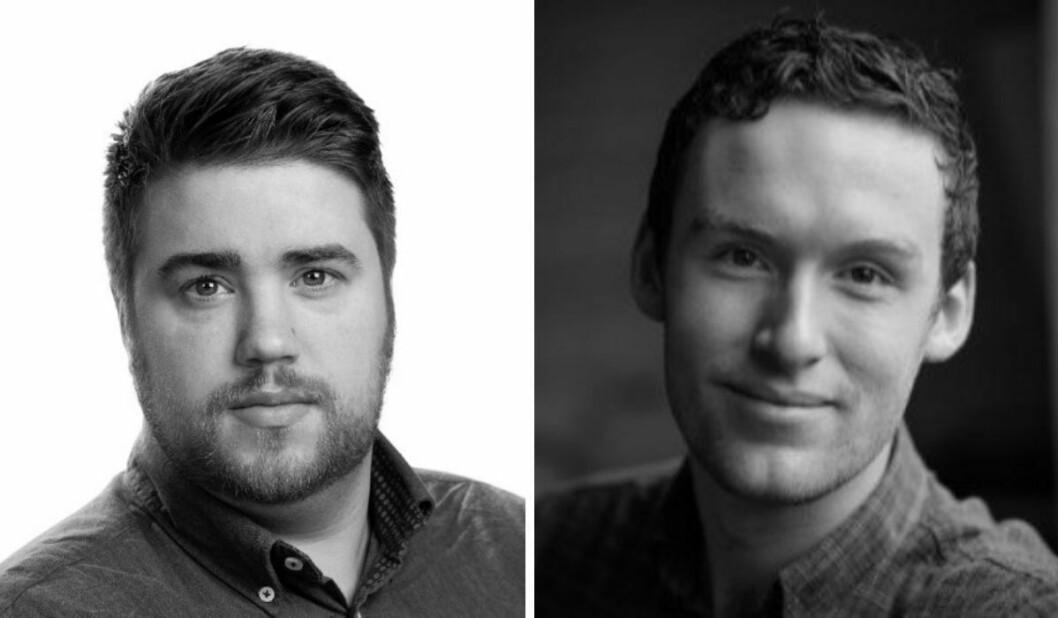 Harald Stolt-Nielsen (29) og Martin Sorge Folkvord (27) har fått fast jobb i Aftenposten.