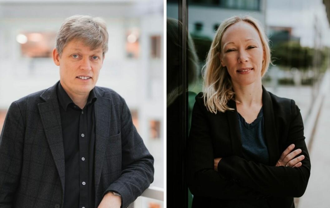 Medieforskerne Jens Barland og Helle Sjøvaag er begge fornøyde med at det fremover skal lages mer lokaljournalistikk i Oslo.