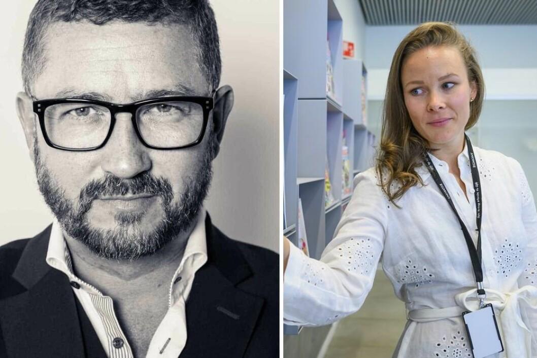 Hans-Petter Nygård-Hansen reagerer på misvisende tittel på Dagbladet-fronten. Utviklingsredaktør Martine Lunder Brenne mener tittelen ikke er feil.
