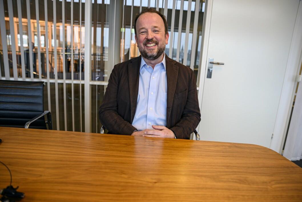 Politisk redaktør Frithjof Jacobsen i Dagens Næringsliv.