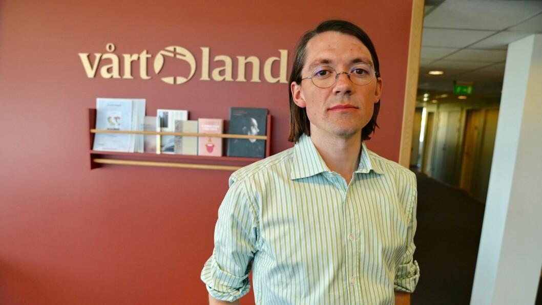 Vårt Lands kulturredaktør, Arne Borge, vil at mediene skal bidra til å bryte ned tabuer rundt det å snakke om mental helse.