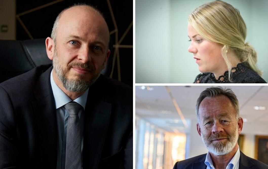 Striden mellom Guro Lindebjergs Retriever og Amund Djuves (t.v) Dagens Næringsliv kan lære mediebransjen noe, mener Halvor Manshaus.