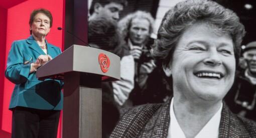 Brundtland og intern maktkamp i Arbeiderpartiet blir TV-drama
