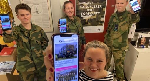 Forsvarets forum lanserer mobilapp