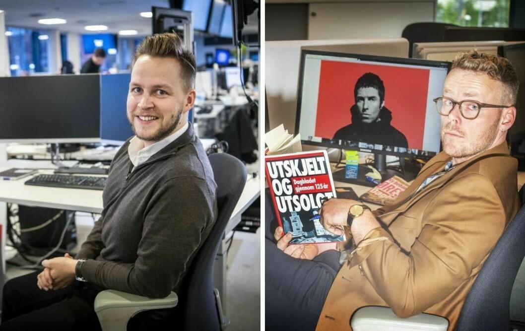 Dagbladet slår sammen Børsen og politisk avdeling. Det medfører nye lederstillinger for Nicolai Eriksen og Steinar Suvatne.