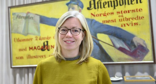 Trine Eilertsen fryktet det verste - men koronaåret endte bedre enn ventet for Aftenposten