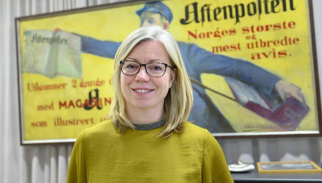 Sjefredaktør og administrerende direktør Trine Eilertsen i Aftenposten.