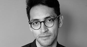 Brian Cliff Olguin (38) er ansatt som journalist i HK-Nytt