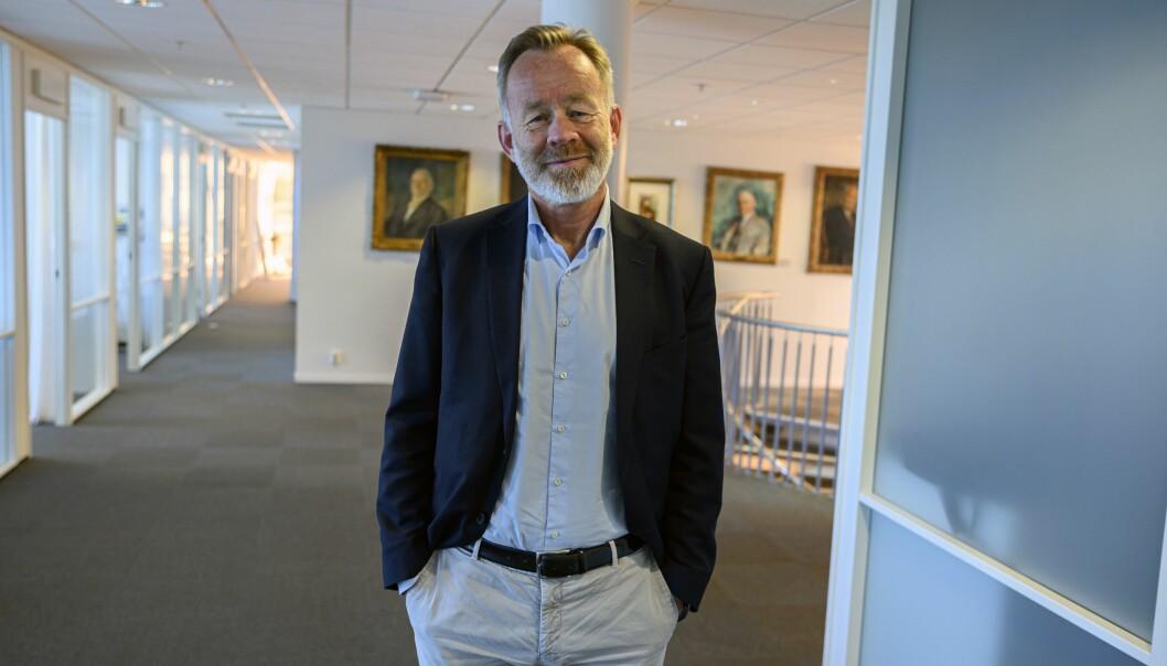 DNs sjefredaktør Amund Djuve.