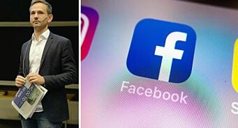 Avisen ble blokkert fra Facebook - uten forklaring: – Det er helt absurd