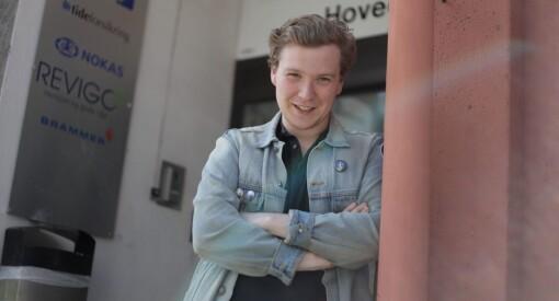 Øystein (24) har fått fast jobb i Mitt Kongsvinger: – Må ha unge og sultne journalister