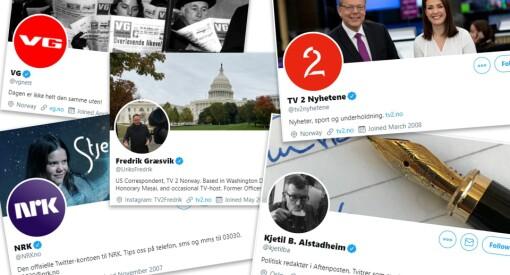 Twitter gjenopptar verifisering av journalister og nyhetsmedier