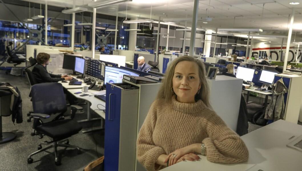 Marte Sandvold Nygaard blir journalist på fast basis hos Mediehuset Haugesunds Avis 1.januar.