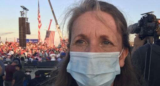 Hanne Skartveit om 2020: – Fikk «lættis» under valgsending ensen kveld i Philadelphia