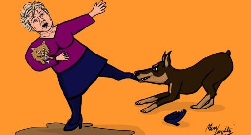 Er vi vaktbikkjer som river makta i buksebeinet, eller en siklende og lydig familiehund?