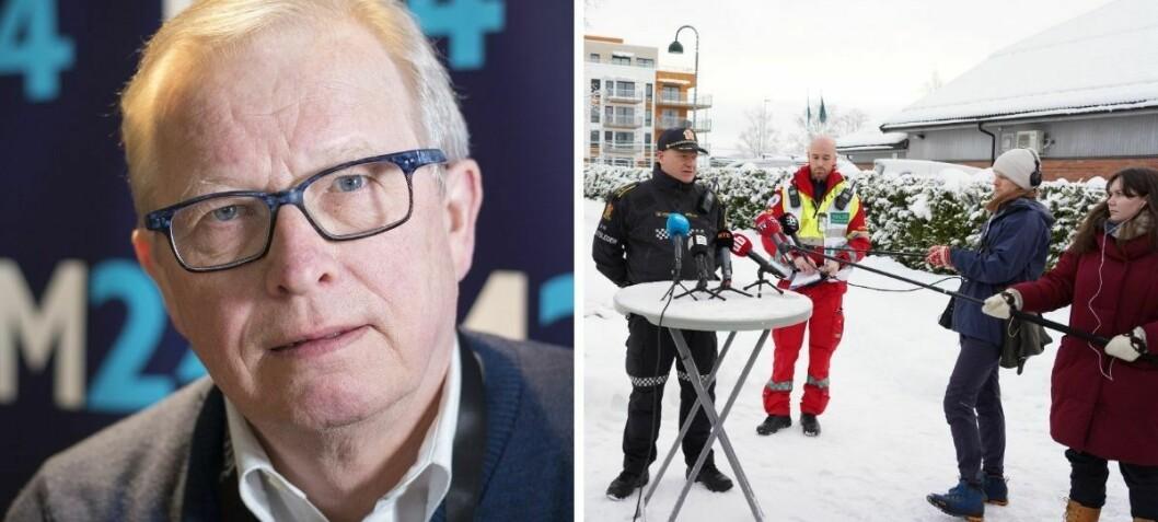 Presse-etikk når katastrofen rammer