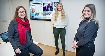 Glåmdalen forsterker - ansetter Kari (58), Frida (24) og Hanna (22)