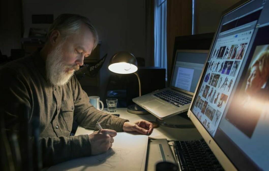 Avistegneren Marvin Halleraker har fått fast jobb i Aftenposten.