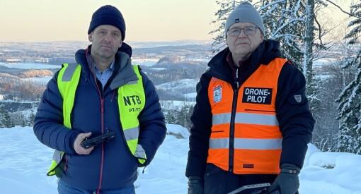 Aftenposten og NTB fikk tillatelse til å ta dronebilder av Gjerdrum-raset: – En del av samfunnsansvaret