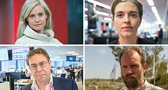 Dramatisk for norske journalister i Washington. Nå vurderer mediehusene sikkerheten