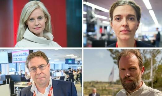 Dramatisk for norske journalister i Washington