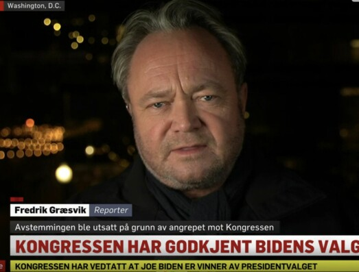 Kaoset i Washington ryster Græsvik: – Helt vanvittig