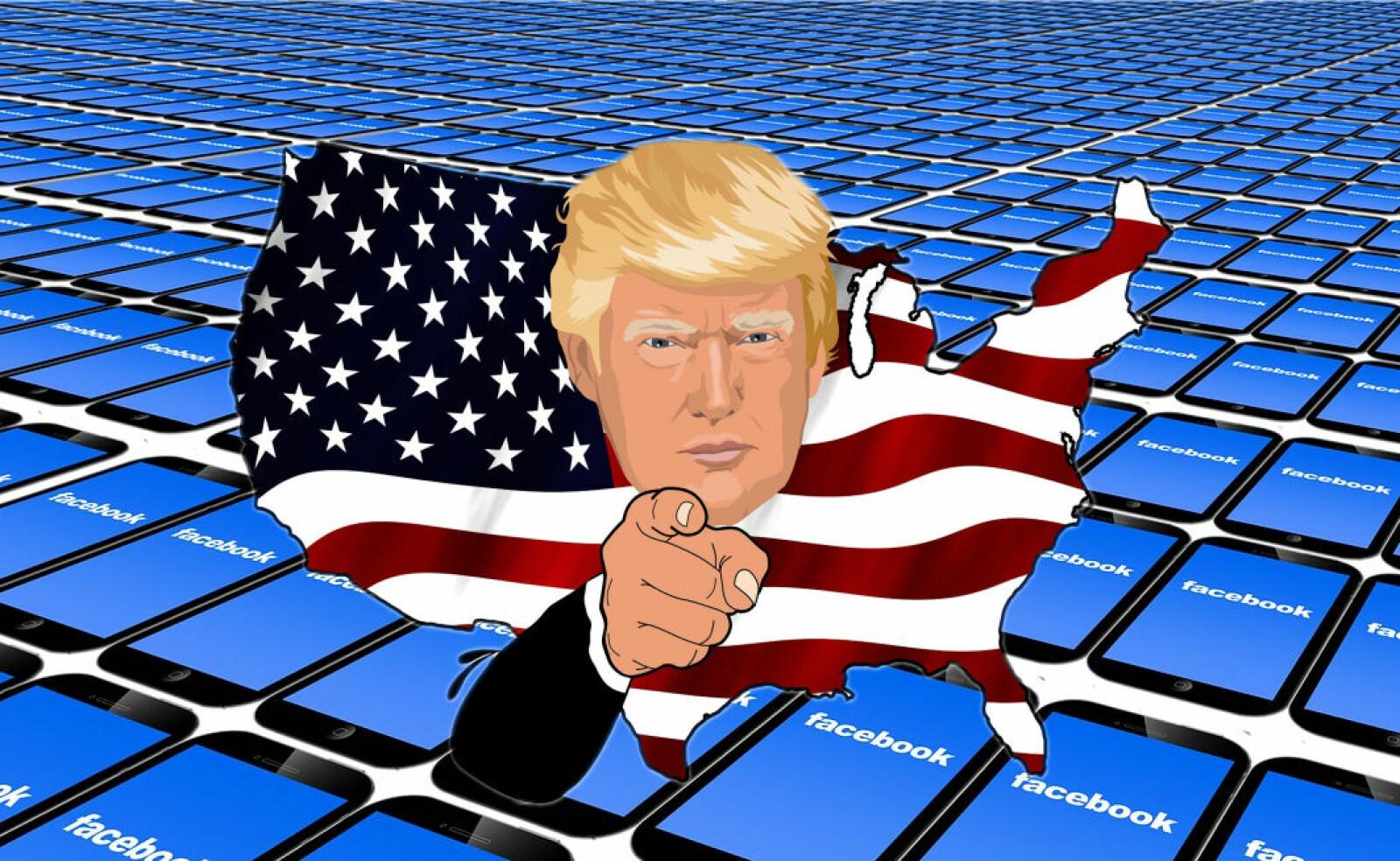 Blir konspirasjonene borte av å fjerne Trump fra sosiale medier?