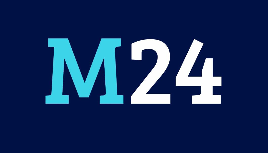 M24s nye logo.