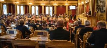 Stortinget søker videojournalist / visuell historieforteller