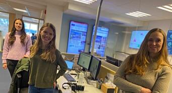 Marthe Laurendz Jensen (24) og Vibeke Johannessen (29) er Østlandets Blads nye frontsjefer