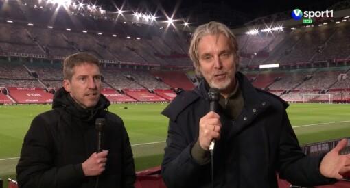 Jan Åge Fjørtoft dekker fotball for NENT i koronastengte England - slik er arbeidsforholdene
