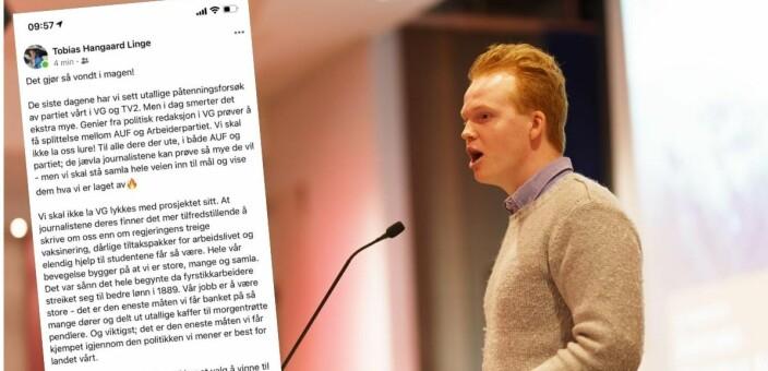 Freser mot VG: – De jævla journalistene kan prøve så mye de vil