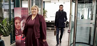 Høyre dropper papir-annonser i årets valgkamp
