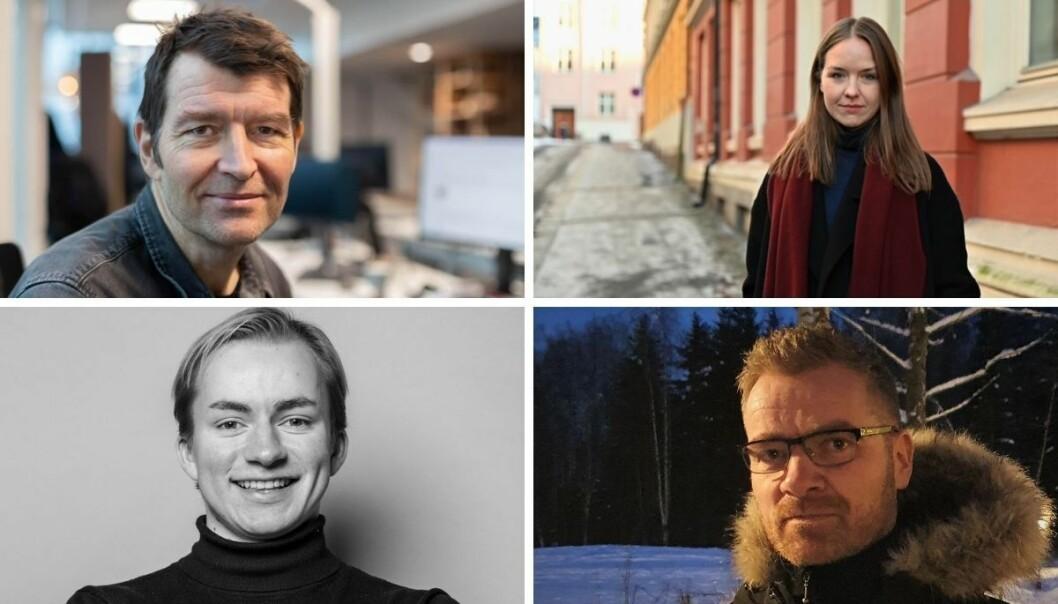 Jørgen Hyvang, Nicole Myhrer, Viljam Brodahl og Stig Kolstad.