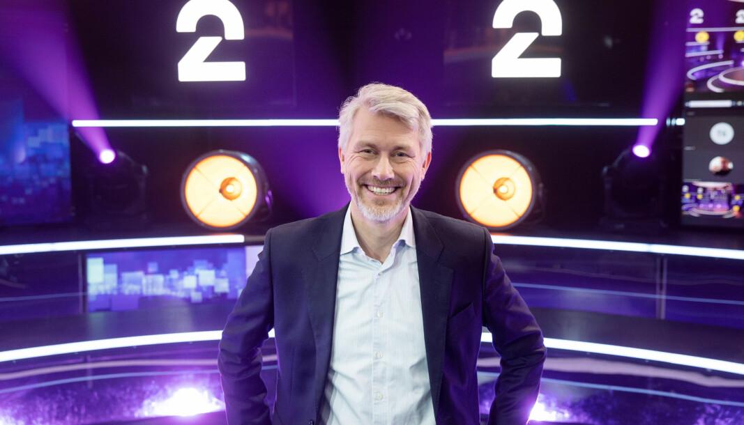 TV 2-sjef Olav Sandnes er fornøyd med mye av det TV 2 leverte i 2020, omsetningsfall til tross.