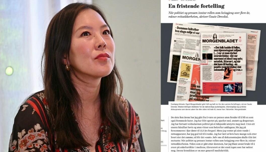 Ansvarlig redaktør og administrerende direktør i Morgenbladet, Sun Heidi Sæbø.